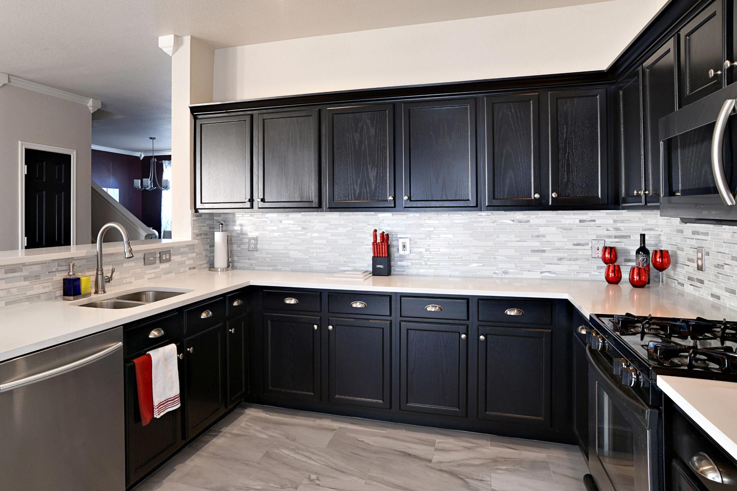 Custom Cabinets Plano Tx Nielsen S Painting Remodeling